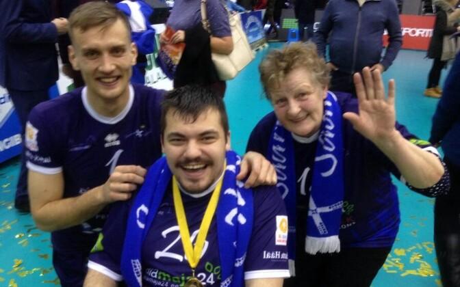 Matej Hukel, Hannes ja Vaike Ränk.
