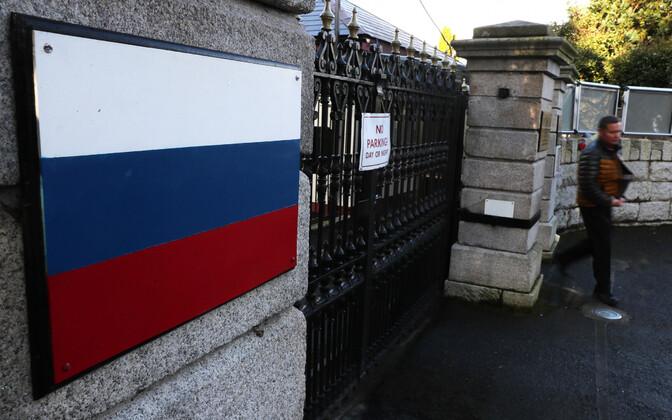 Российское посольство в Дублине.