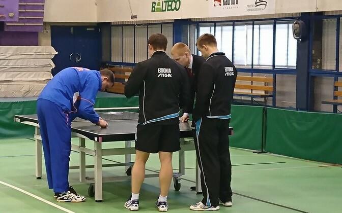 Eesti lauatennise meeskond