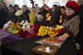 Отпевание жертв трагедии в Кемерове.