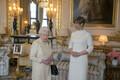 Елизавета II и Керсти Кальюлайд.