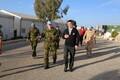 Peaminister Jüri Ratas ja kaitseväe juhataja Riho Terras Liibanonis.