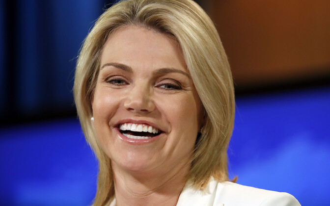USA välisministeeriumi pressiesindaja  Heather Nauert.
