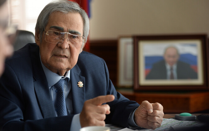 Kemerovo kuberner Aman Tulejev.