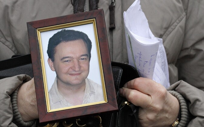 Photo of Russian lawyer Sergei Magnitsky, who was found dead in a Moscow prison in 2009.