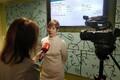 Intervjuu Läti televisioonile