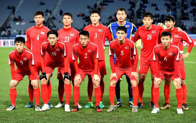 Põhja-Korea jalgpallikoondis.