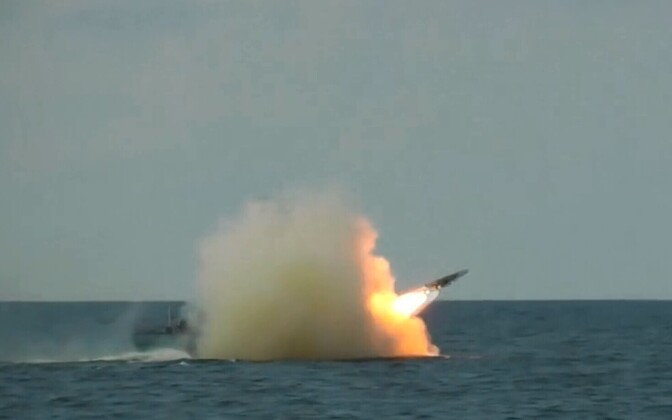 Missile test. Image is illustrative.