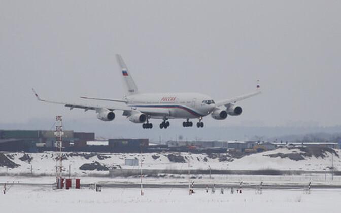Diplomaatide saabumine Moskvasse