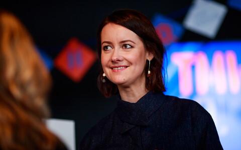 Хелен Сильдна на открытии TMW-2018.