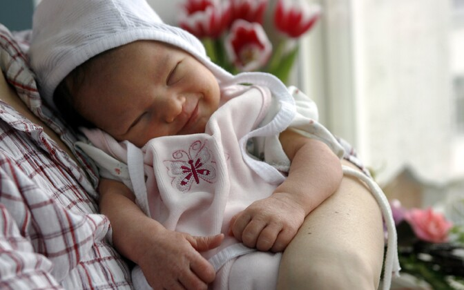 Newborn. Photo is illustrative.