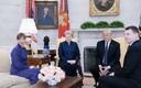 Президенты стран Балтии и президент США Дональд Трамп