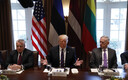 Президент Керсти Кальюлайд встретилась с президентом Дональдом Трампом.