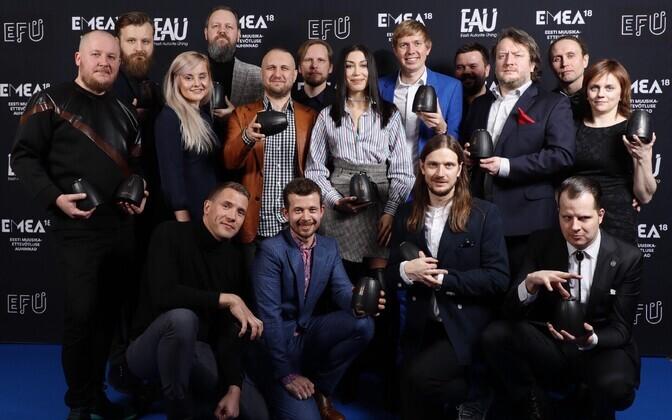 Eesti muusikaettevõtluse auhinnad 2018