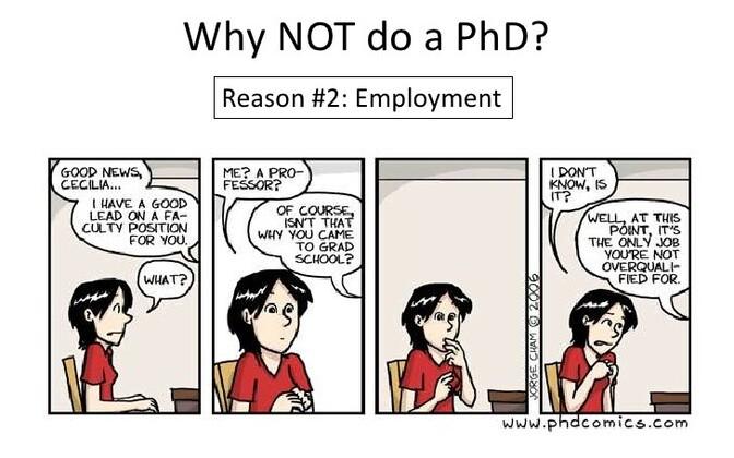 Miks mitte teha doktorikraadi?