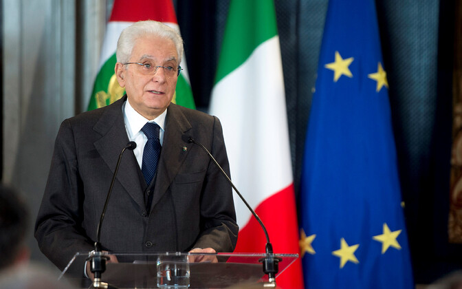 Президент Италии Сержио Маттарелла.