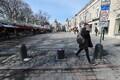 Turvapostid ehk turvapollarid Tallinna vanalinnas Viru tänava alguses