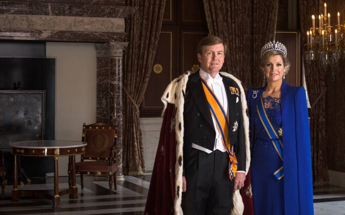 King Willem-Alexander and Queen Máxima of the Netherlands.