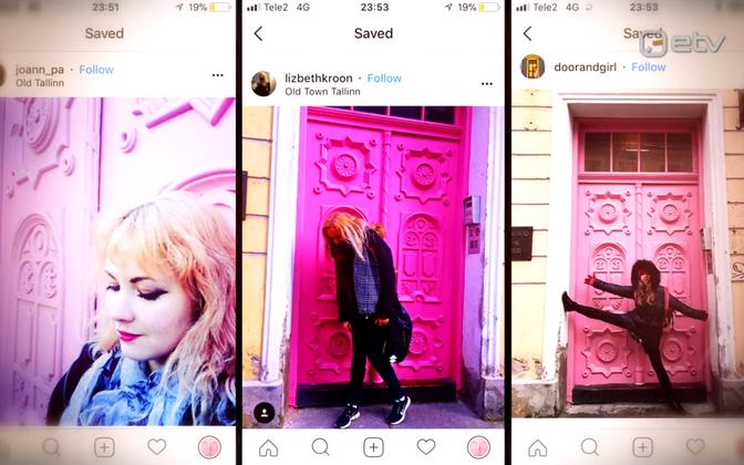 Hanna Liina Võsa muusikalikooli roosa uks lõi sotsiaalmeedias laineid.