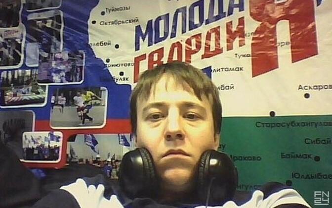 Open Russia member Konstantin Tchadlin.