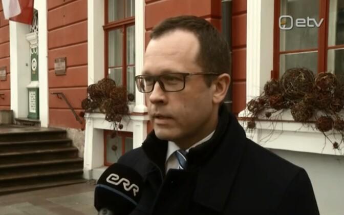 Tartu linnapea Urmas Klaas.