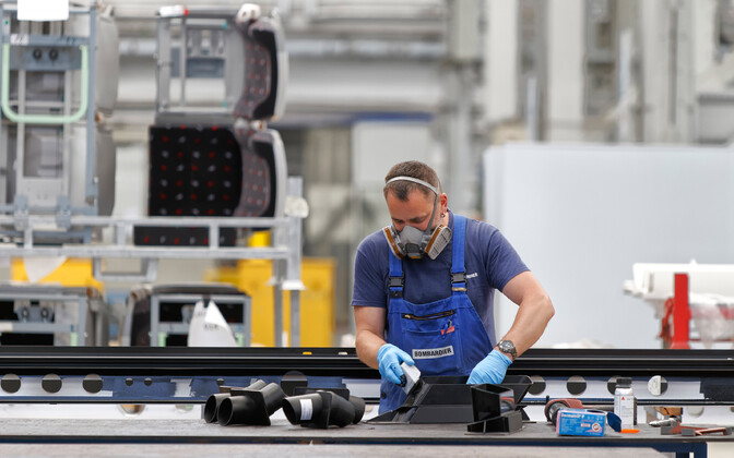 Industrial output increased in May for the fifth month in a row. Image is illustrative