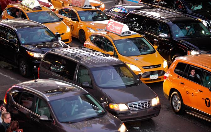 Uber ja selle analoogid tekitavad Ameerika Ühendriikides märkimisväärseid liiklusummikuid.