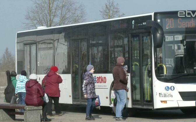 Автобус в Нарве