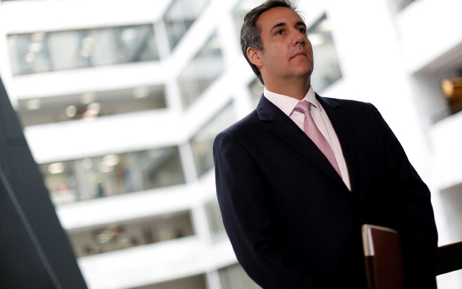 President Donald Trumpi kauaaegne isiklik advokaat Michael Cohen.