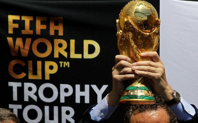 Jalgpalli MM-trofee