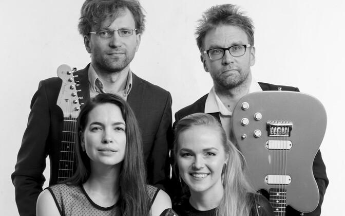 Kvartett Voorand/Koikson/Sooäär/Daniel.