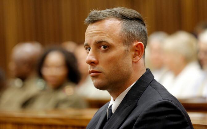 Oscar Pistorius 2016. aastal kohtus.