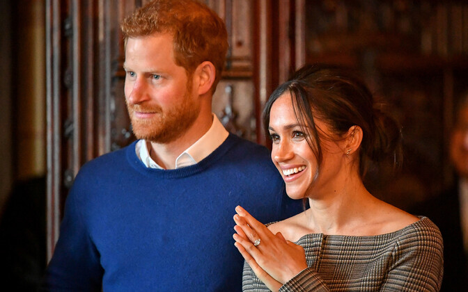 Prints Harry ja tema kihlatu Meghan Markle.