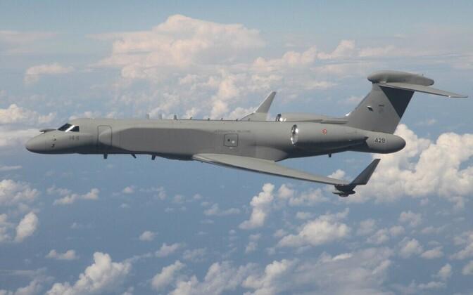 Itaalia õhuväe luurelennuk Gulfstream G550 CAEW