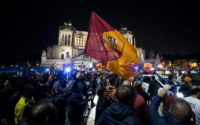 AS Roma poolehoidjatel oli teisipäeva õhtul põhjust tähistada