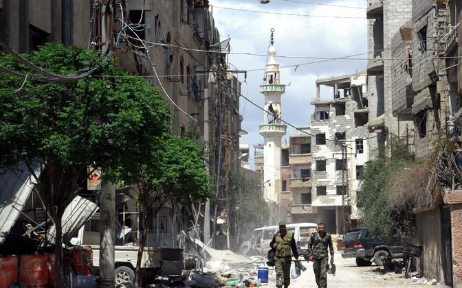 Индексы США поднялись нафоне заявлений обударах поСирии