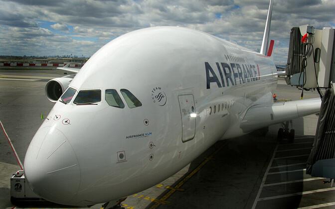 Air France'i lennuk.