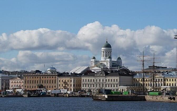 Столица Финляндии Хельсинки.