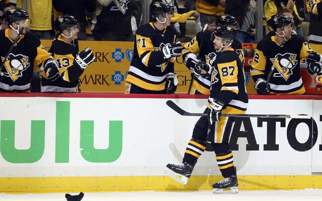 Sidney Crosby ja Pittsburgh Penguins