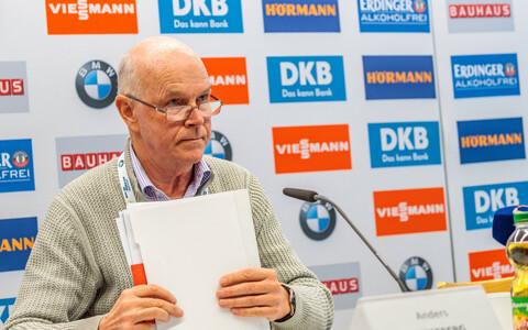Anders Besseberg 2017. aastal Hochfilzeni MM-il.