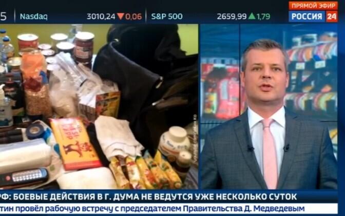 Mesikäpa šokolaad Vene meedias.