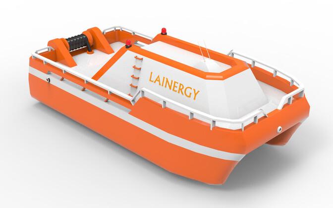 2015. aasta PowerUp! rahvusvahelise finaali võidutöö Lainergy - laineenergiast elektrit tootev mobiilne ja hõljuv elektrijaam