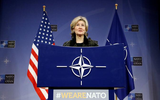 USA esindaja NATO juures Kay Bailey Hutchison.