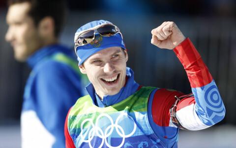 Jevgeni Ustjugov 2010. aasta Vancouveri olümpial.