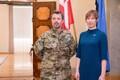 President Kersti Kaljulaid kohtus Taani kroonprintsi Frederikiga.