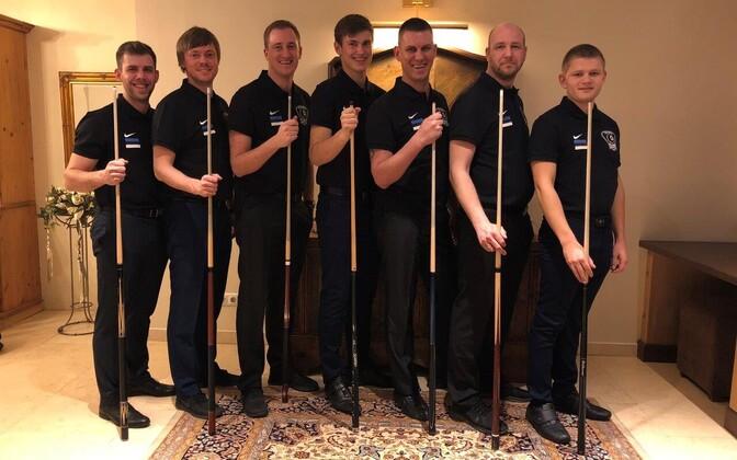 vasakult: Adigazalov, Kuusik, Grabe, Mägi, Laar, Liigant, Rehepapp