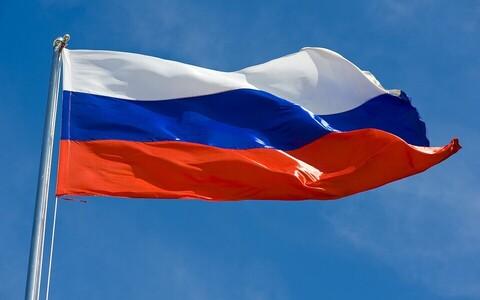 Российский флаг. Иллюстративная фотография.