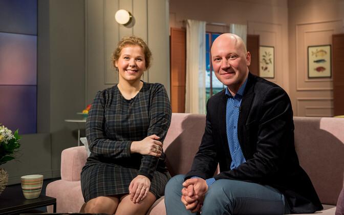 Ooperiartistid Juuli Lill ja René Soom