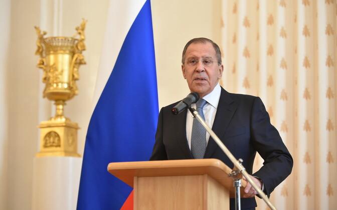 Venemaa välisminister Sergei Lavrov.