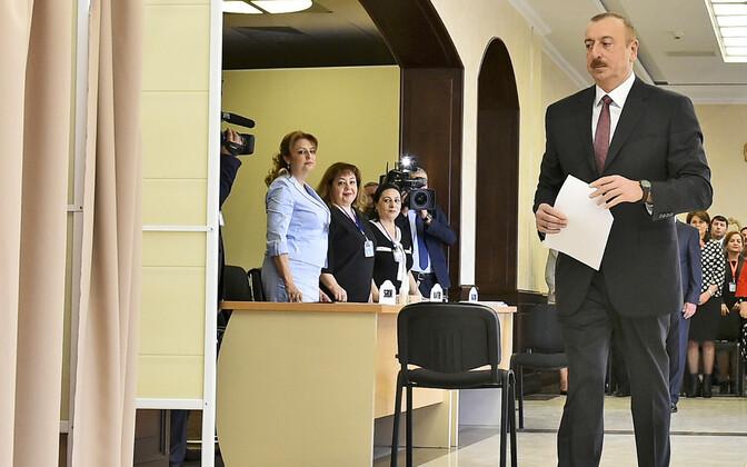За Ильхама Алиева проголосовали почти 4 млн человек.